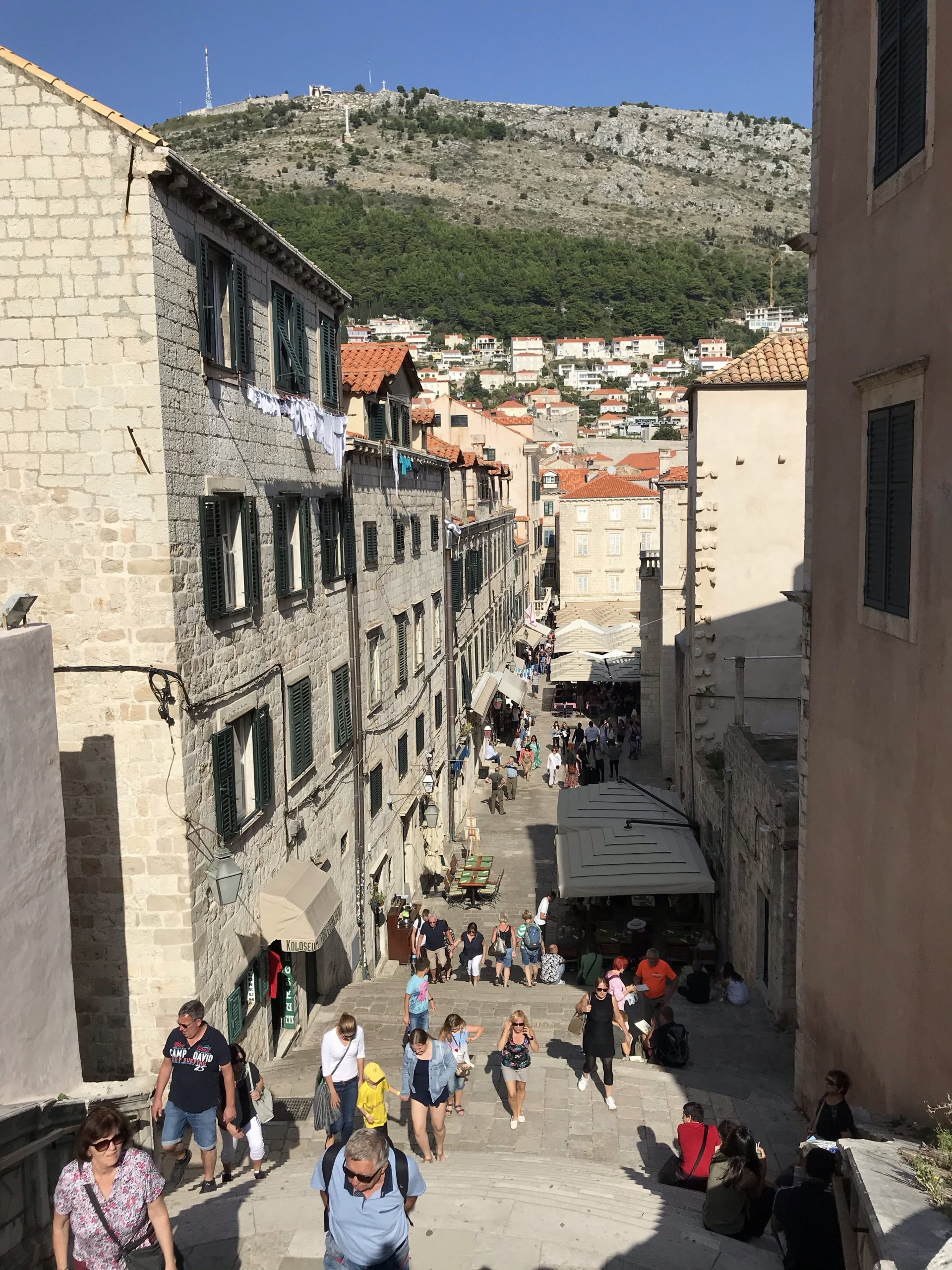 Cersi Shame Stairs Dubrovnik - The Traveling Storygirl