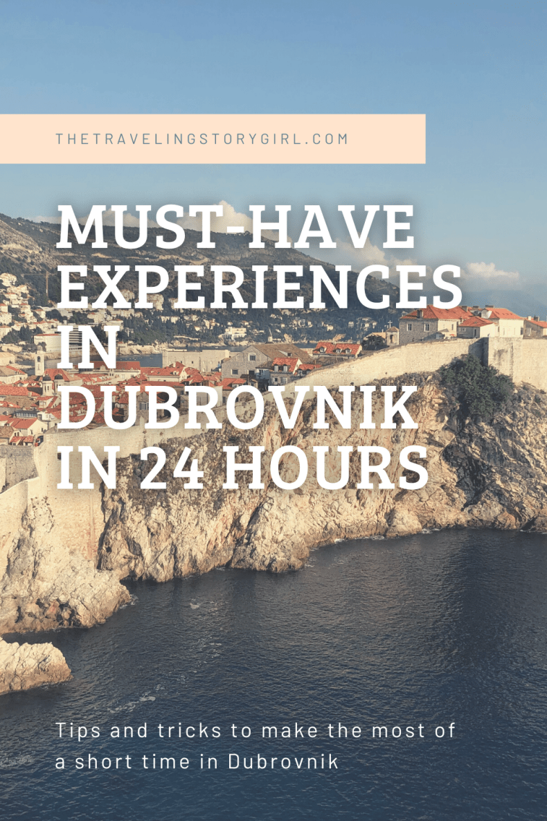 Must Have Experiences in Dubrovnik in 24 Hours - The Traveling Storygirl