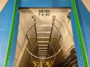 Hatch to Turbine