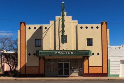 Palace Building Marfa TX