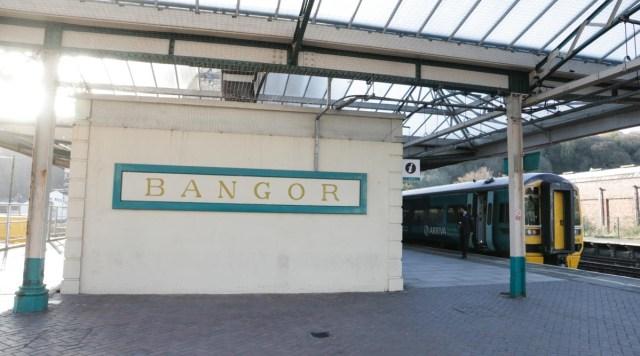 Bangor Wales Station - Scotland Wales London Itinerary BritRail Pass