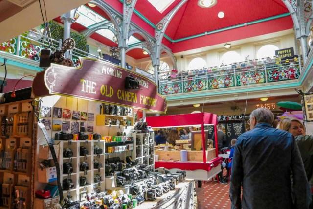 Inside Camden Market in London - Scotland Wales London Itinerary BritRail Pass