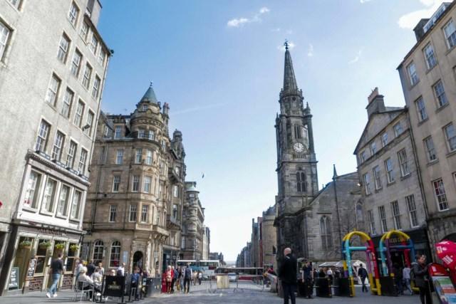 Royal Mile in Edinburgh - Scotland Wales London Itinerary BritRail Pass