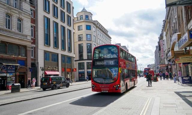 Streets of London - Scotland Wales London Itinerary BritRail Pass