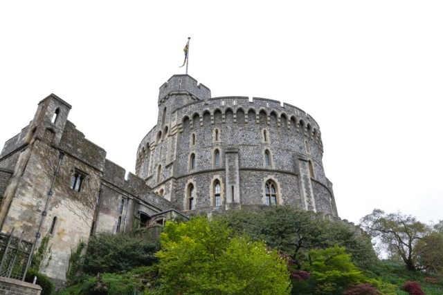 Windsor Castle from Afar - Scotland Wales London Itinerary BritRail Pass