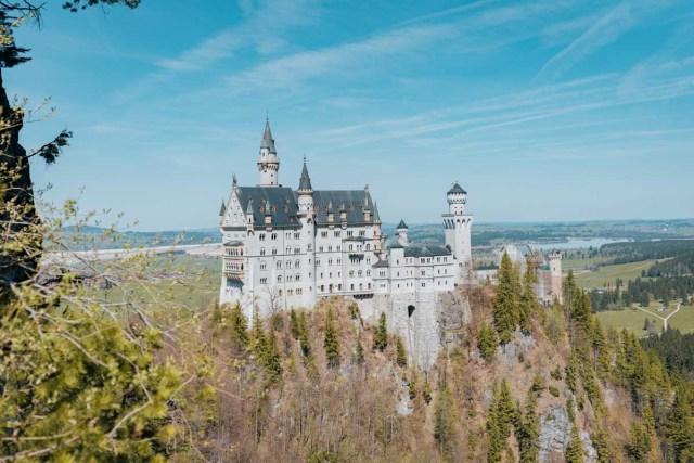 Neuschwanstein castle - Baravia - Germany - Photogenic locations in Europe