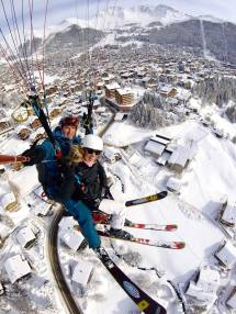Paragliding In Verbier Switzerland Travelista