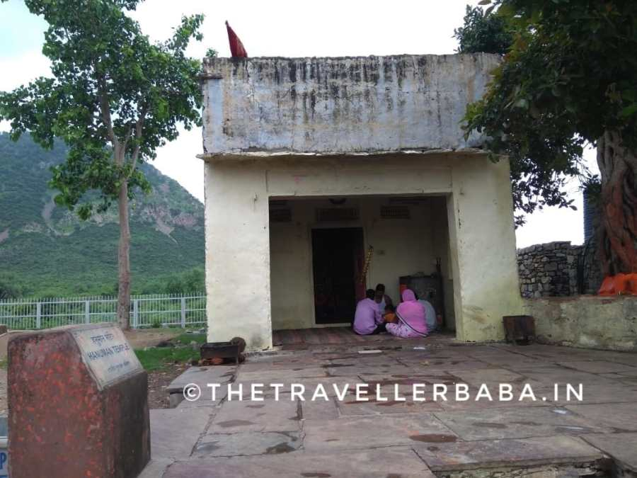 Hanumana temple in side the Bhangarh fort