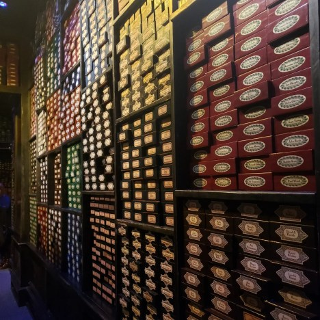 Wand Shop, Harry Potter Warner Brothers Studio Tour London