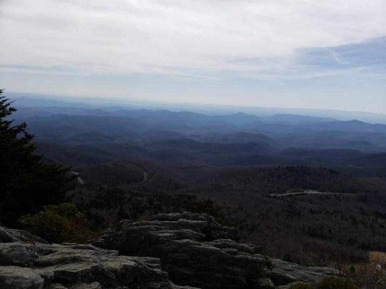 Grandfather Mountain Hiking, North Carolina