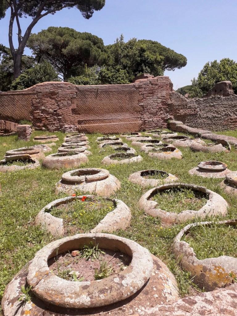Ostia Antica Planters
