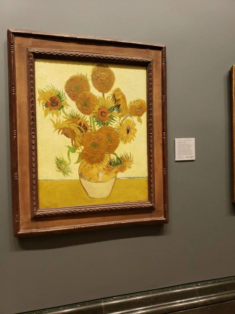 Sunflowers, Vincent Van Gogh, National Gallery