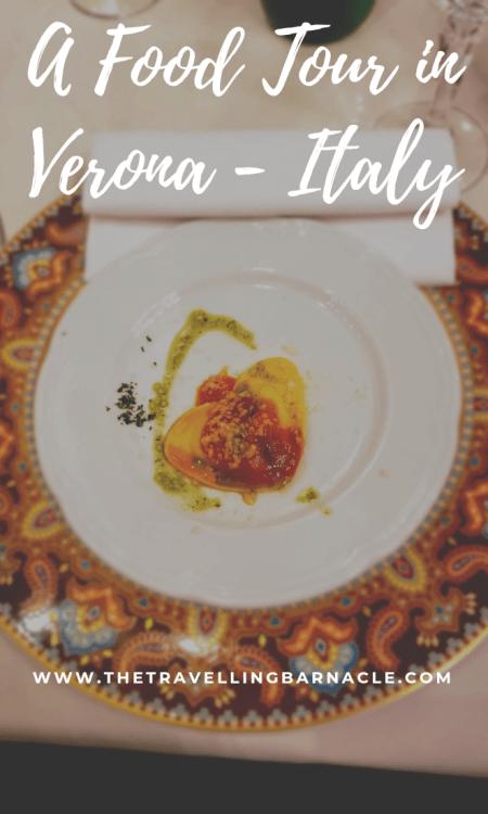 Verona Food Tour Pin