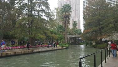 A piece of the San Antonio Riverwalk