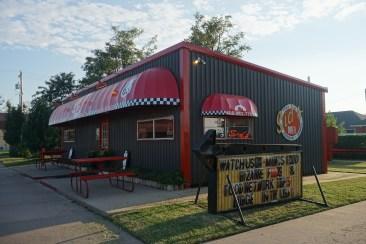 Outside of Sid's Diner
