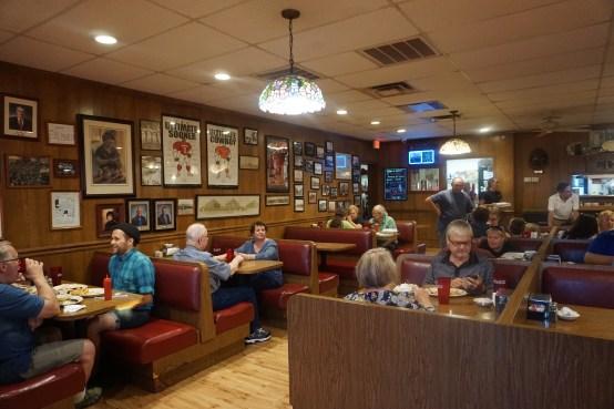 Inside Clanton's Cafe