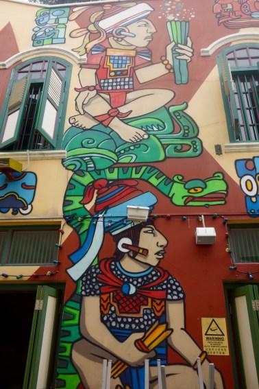 Haji Lane Wall Art