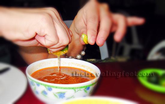 Bulca Chong soup