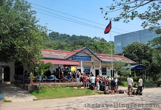 Cham Yeam International Check Point, Koh Kong border