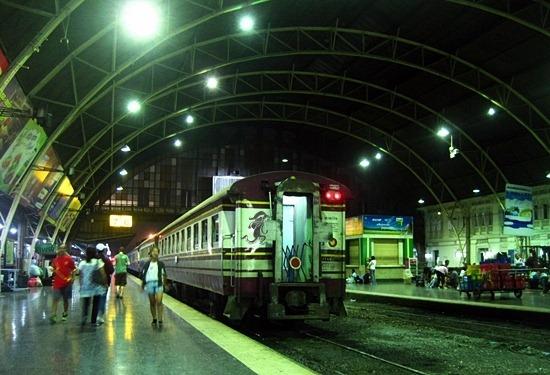 Hua Lamphong Train Station in Bangkok Thailand