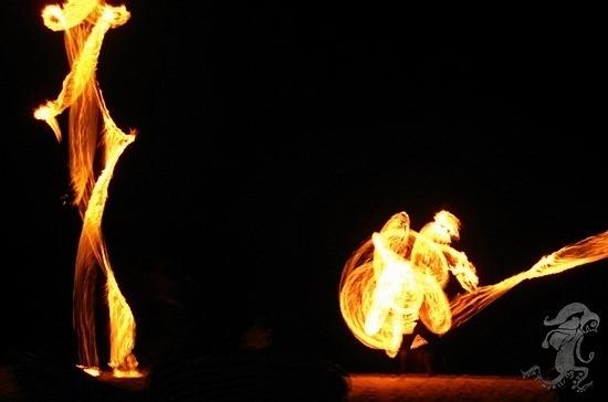 Serendipity Beach Sihanoukville Cambodia Fire Dance