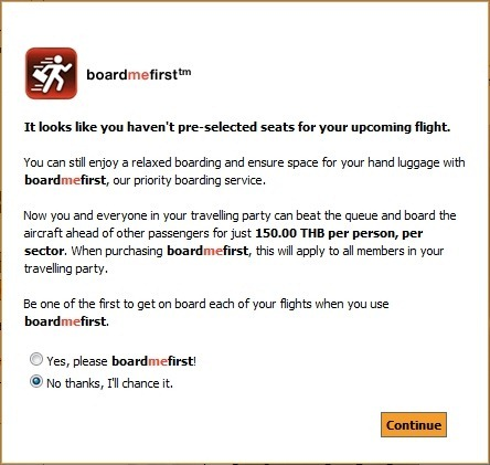 board me first from Tiger Airways