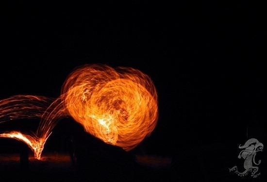 fire dance sihanoukville