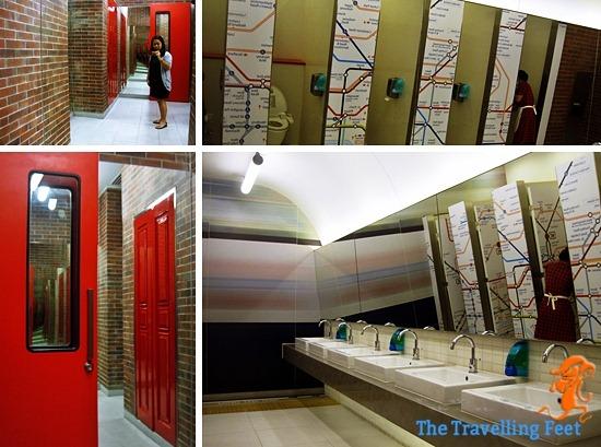 London inspired bathroom