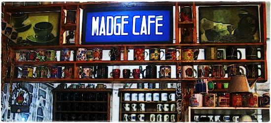 Strangers on the Road: A Quick Coffee Break at Madge Cafe