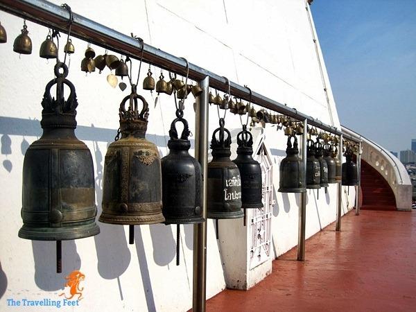 more bells adorn Wat Saket