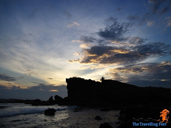 Sunrise over at Caranas in Biri Island