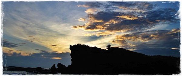 Waiting for Sunrise at the Bel-at Rock Formation in Biri