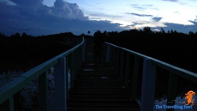 dawn walk going to bel-at