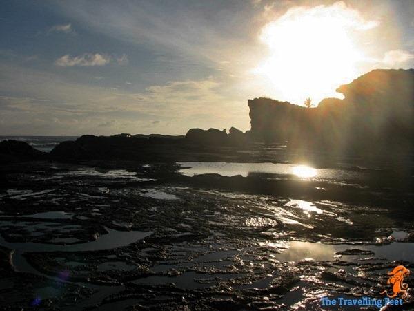 sunrise at Biri Island in Samar