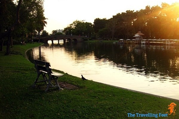 Chatuchak Park before sunset