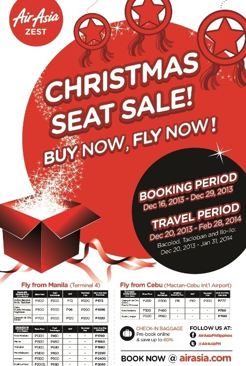 air asia christmas sale