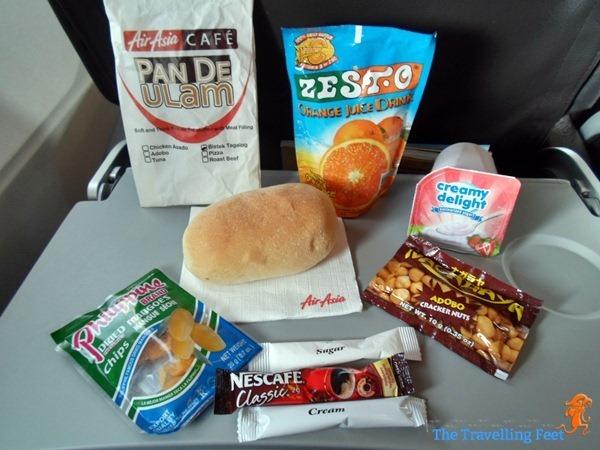 breakfast goodies courtesy of AirAsiaZest