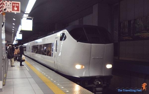 Japan Haruka 44 Limited Express