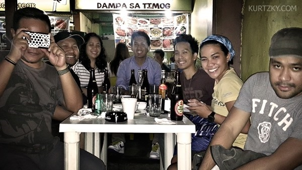 dampa sa timog with travel blogger friends