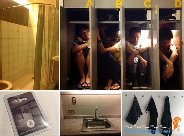 amenities at z hostel