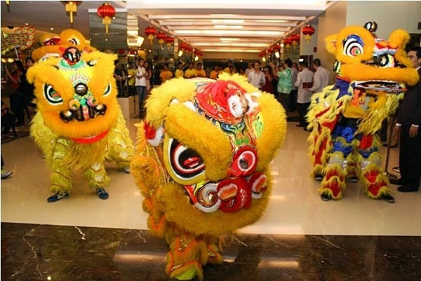 lion dance chinese new year manila pavilion