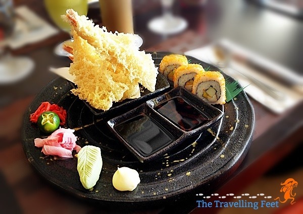 Japanese platter - Luxent Hotel