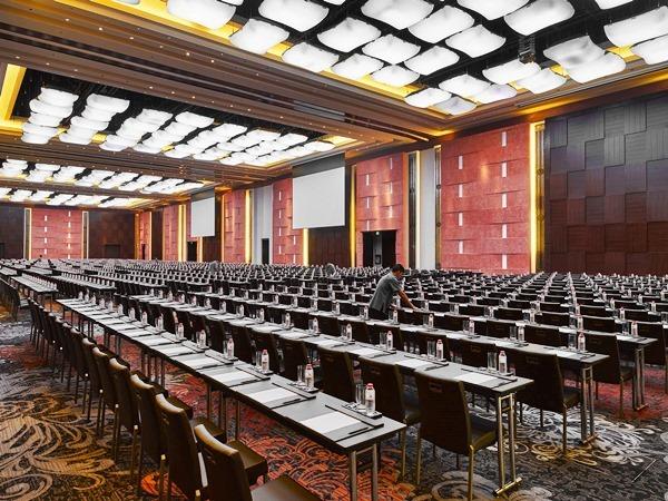 Marriott Hotel class room setup grand ballroom