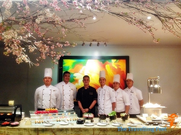 chefs at Luxent Hotel Garden Cafe