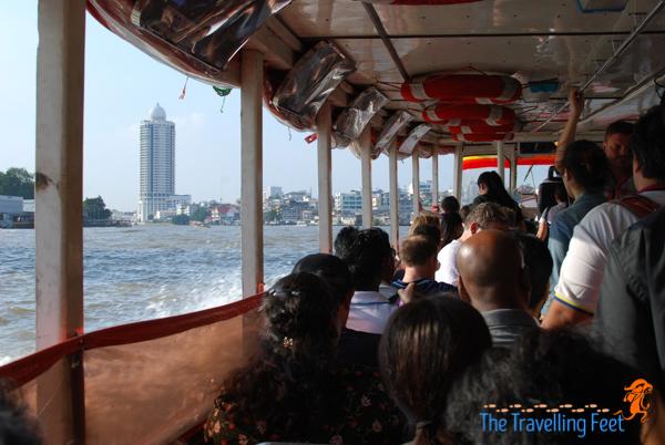 ayuthaya day tour: ferry boat ride in Bangkok