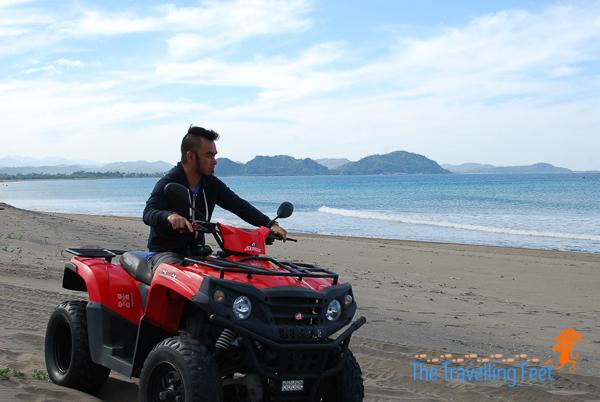 ATV ride in the sand dunes of ilocos