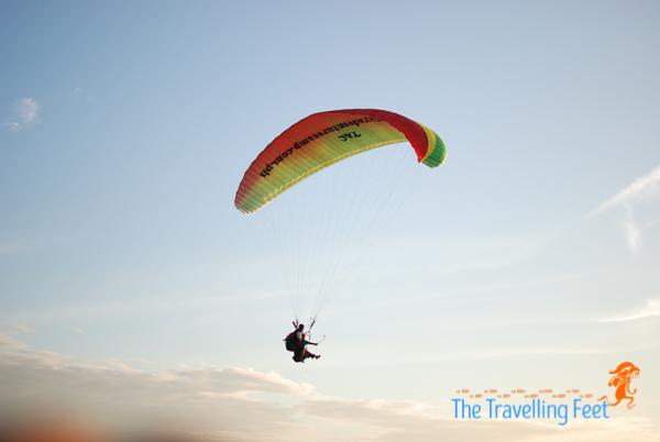 paragliding at narvacan ilocos sur