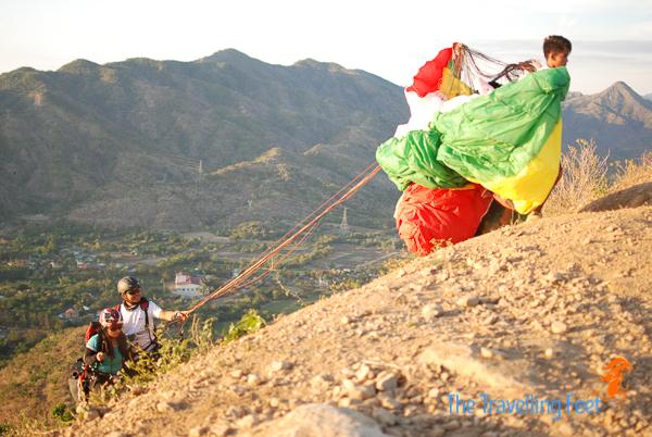 paragliding experience in ilocos sur philippines