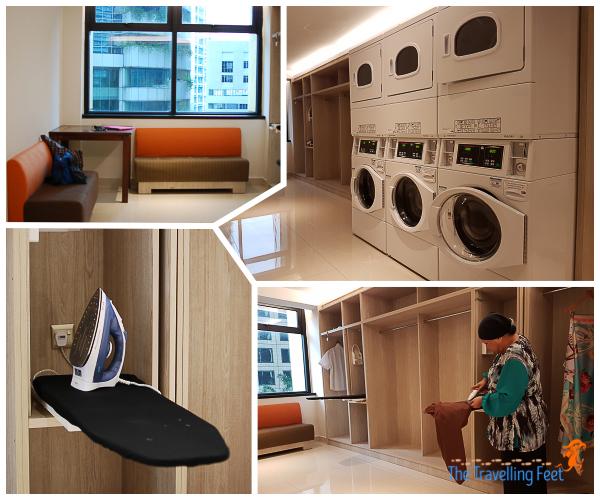 laundry and ironing services at holiday inn express kuala lumpur