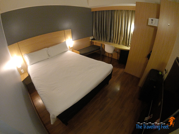 the double bed room at Ibis Sao Paulo Paulista
